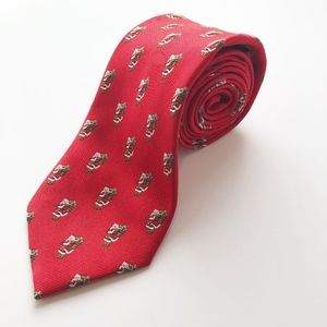 JoS. A. Bank Executive Collection Holiday Silk Tie